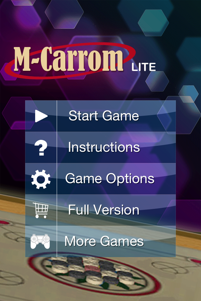Screenshot M-Carrom Lite